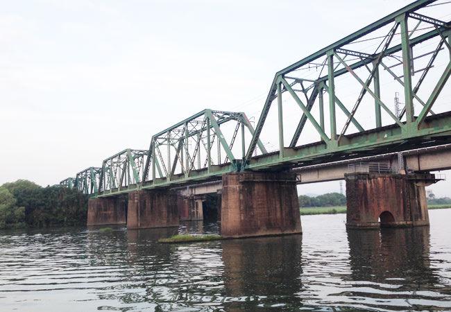 遠賀川鉄橋の写真