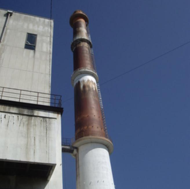 門司区新門司の旧清掃工場1